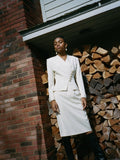 Christian Dior Pearl Skirt Suit