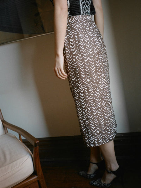 Oleg Cassini Pencil Skirt