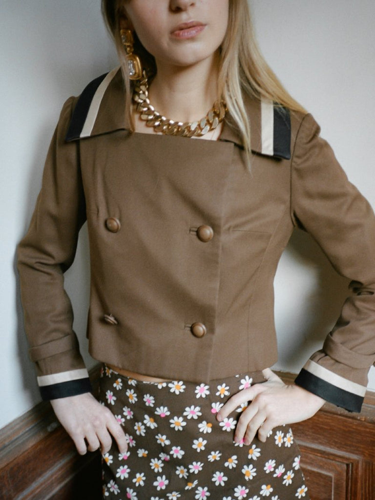 60s Cropped Jacket