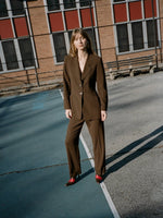 Escada Chocolate Pant Suit