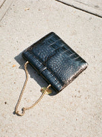 Chain Strap Alligator Handbag
