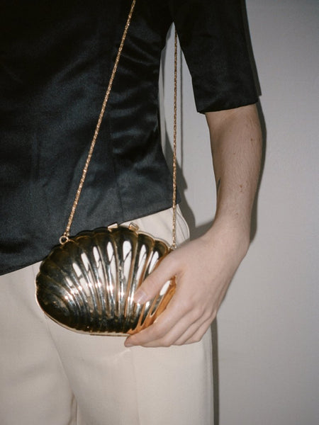 Scallop Shell Evening Bag
