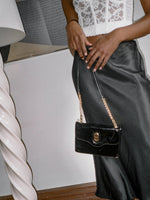Chain Strap Patent Bag