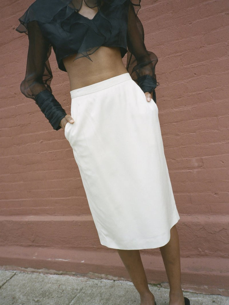 Classic Dior Pencil Skirt
