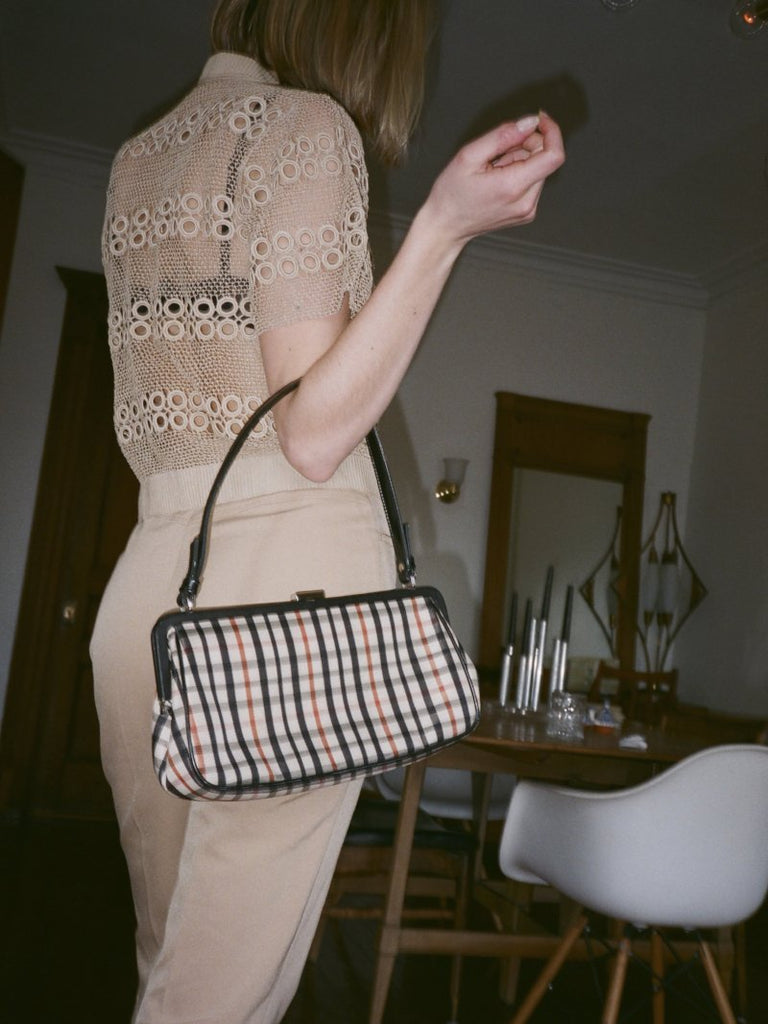 Plaid Handbag