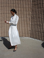80s Pleated Skirt Set