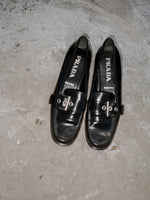 Prada Buckle Loafers