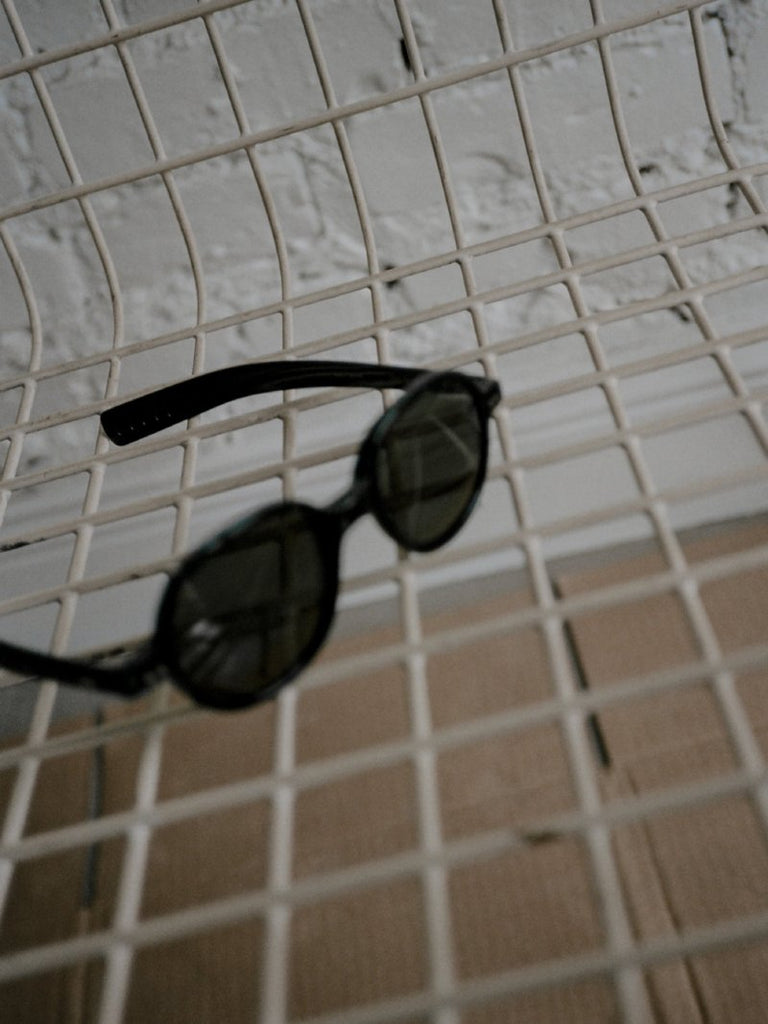 German Green Lens Sunglasses