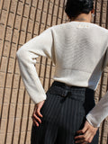 Charcoal Pinstriped Trousers