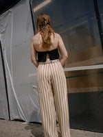 Caramel Stripe Pants
