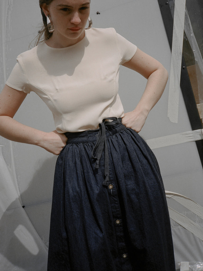 Calvin Klein Denim Skirt