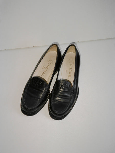Chanel Penny Loafers