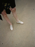 Cream Patent Oxfords