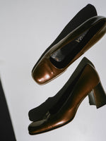 Block Heel Prada Pumps