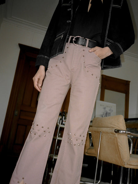 1970s Studded Flares