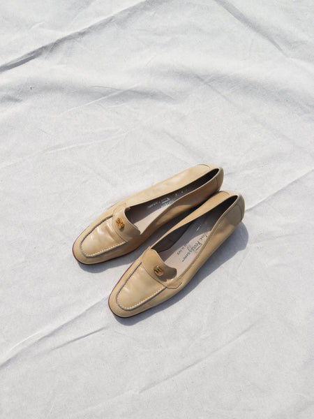Ferragamo Butter Leather Loafers (10)