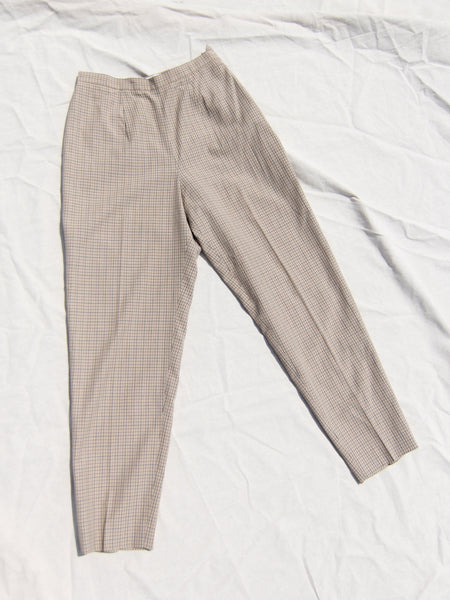Lightweight Plaid Pants