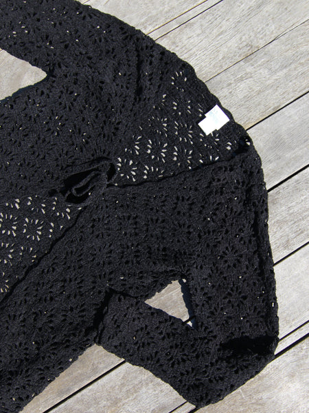 Crochet Knit Cardigan
