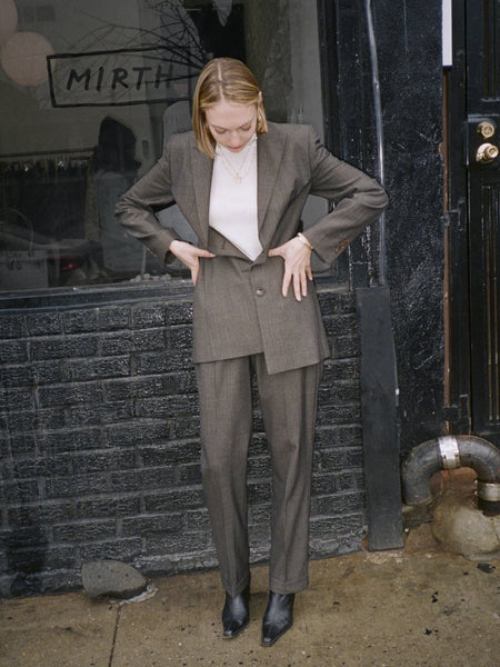 Louis Féraud High Waist Suit