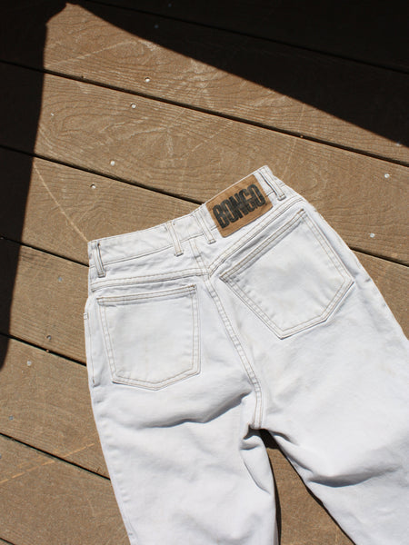 Natural High Waist Denim