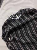 Escada Sheer Stripe Blouse