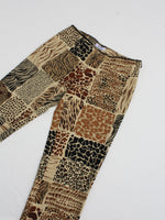 Moschino Animal Print Pants