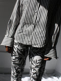 Charcoal Stripe Cotton Shirt