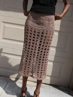 Cocoa Crochet Skirt