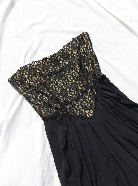 Strapless Lace Slipdress