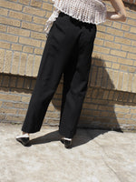 Louis Féraud Pleated Wool Pants