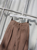 Summer Weight Pleated Pants