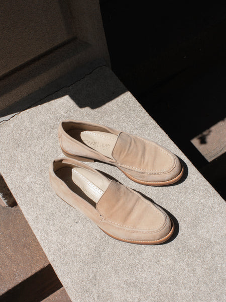 Fawn Suede Loafers (37.5)