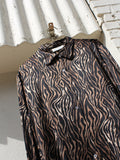 Tiger Stripe Silk Shirt
