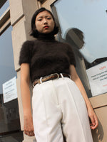 Angora Knit Turtleneck