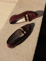 Oxblood Bally Loafers (7)