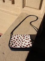 Spotted Pony Hair Purse