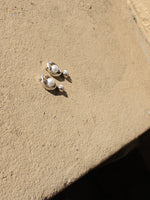 Sterling and Pearl Earrings