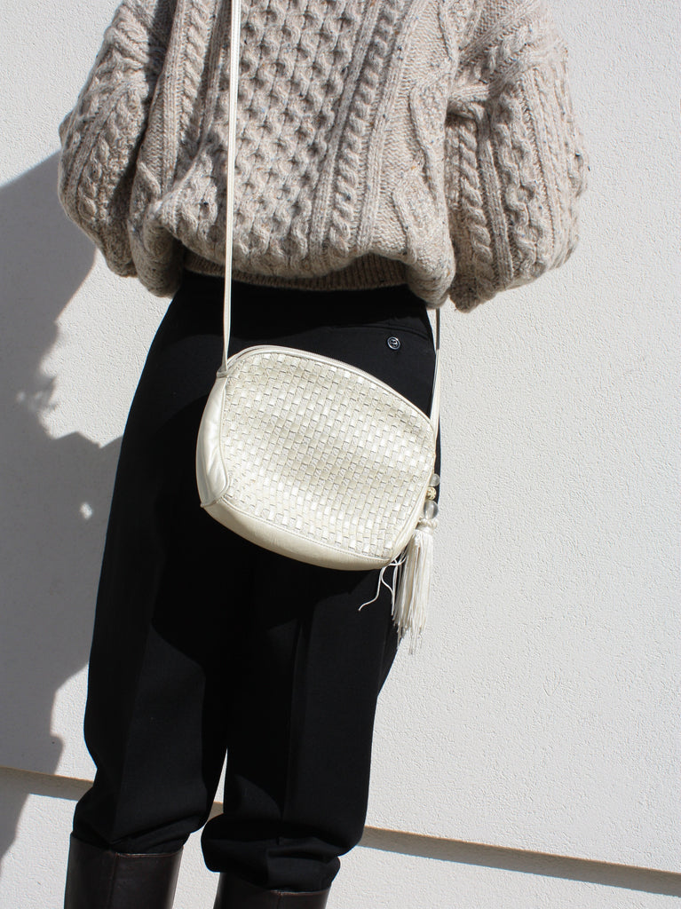 Pearl Leather Bag