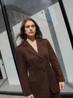 Chocolate Italian Wool Suit