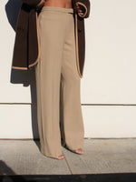 Armani Tan Wool Pants