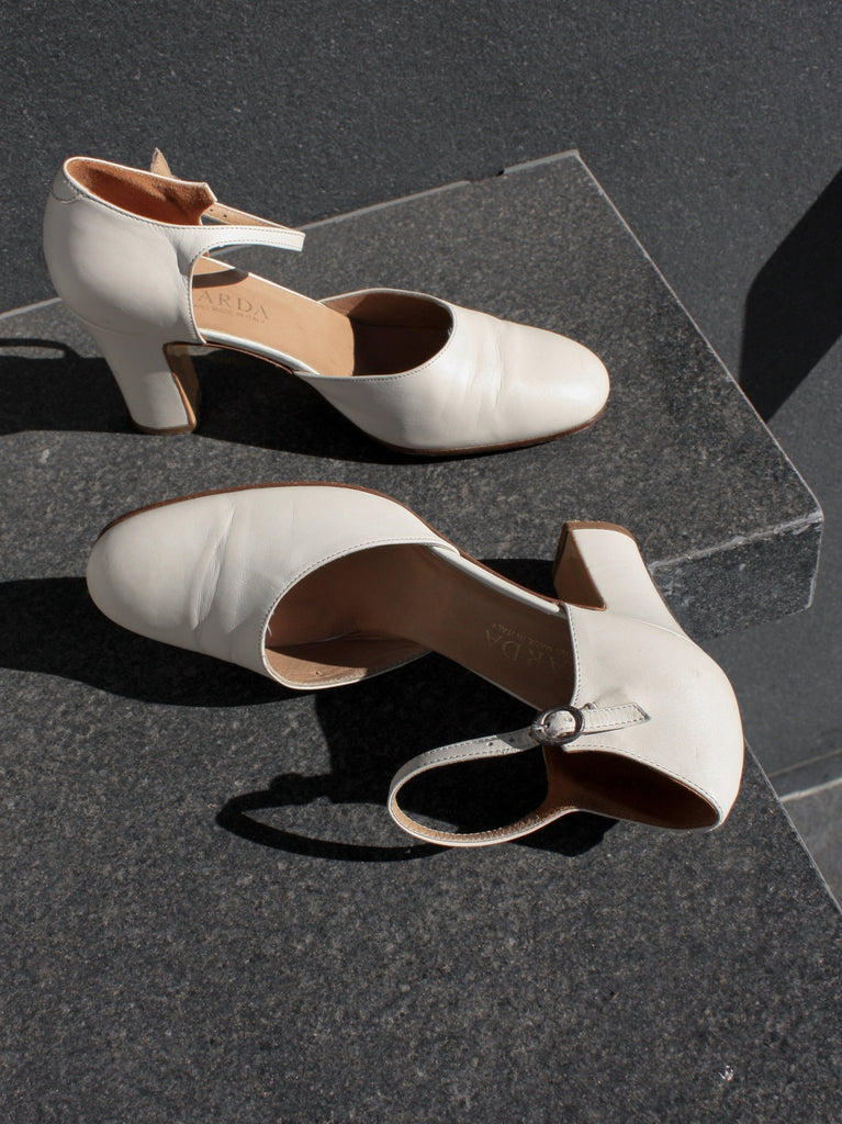 White Leather Mary Janes (7)