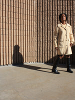 Escada Toggle Cashmere Coat