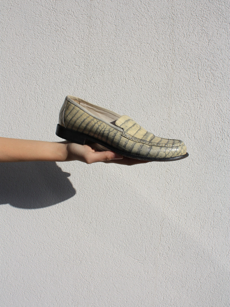 Joan & David Croc Loafers (39)