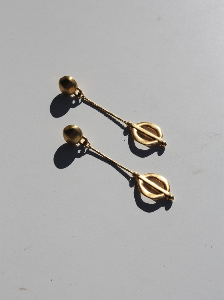 Phi Pendant Earrings