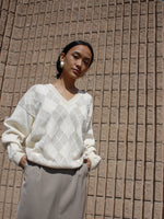 Argyle Cotton Knit