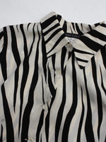 Zebra Silk Shirt