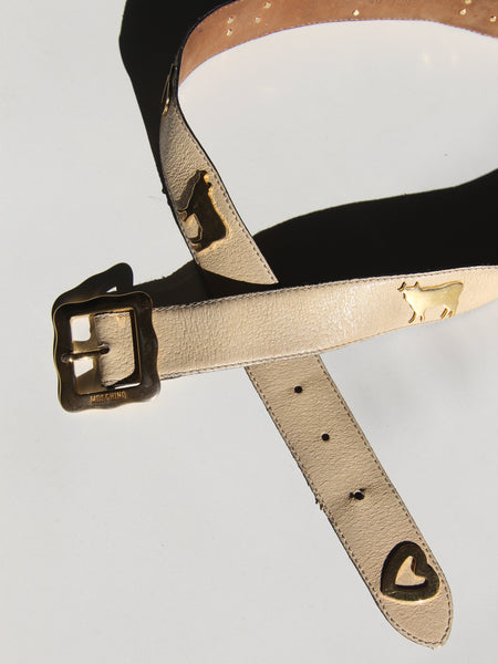 Moschino Figurine Belt