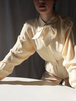 Buttercream Silk Blouse