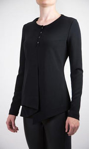Asymmetric Wool Top