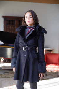 Reversible Luxe Coat